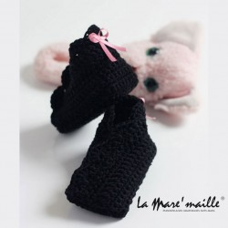 Chaussons bébé crochet...