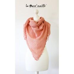 Châle chèche XL en laine...