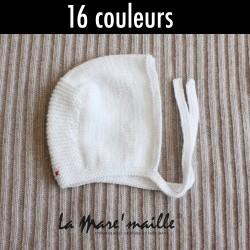 Bonnet béguin bébé en laine...