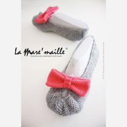 Chaussons maille pour femme...
