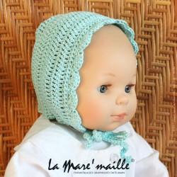 Bonnet béguin bébé coton...
